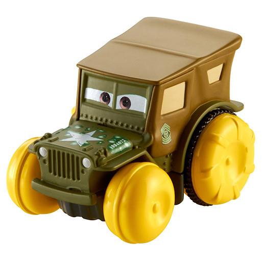 Image of Disney Pixar Cars Hydro Wheels Sarge Vehicle
