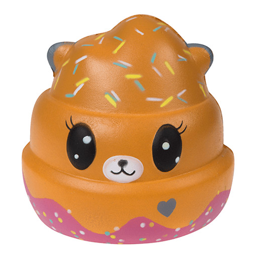 Picture of Squish Squashies Lovably Squishy - Brown Bear