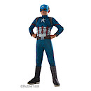 Marvel Captain America Civil War Deluxe Muscle Costume - Captain America (5-7 Years)