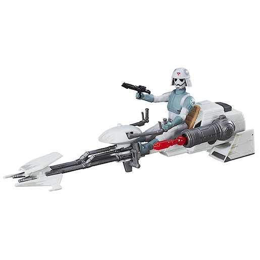 Star Wars The Force Awakens 3.75-inch Vehicle - Rebels AT-DP Pilot and Imperial Speeder