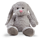 Snuggle Buddies 32cm Friendship Bunny- Nox (Grey)