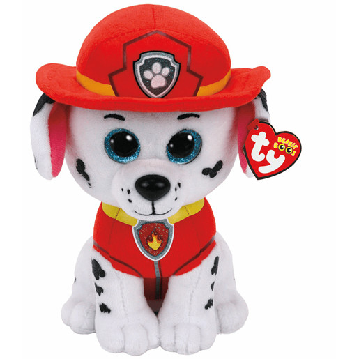 Ty Paw Patrol Soft Toy - Marshall Buddy