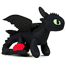 Action Dragons Toothless Soft Toy - Second Version