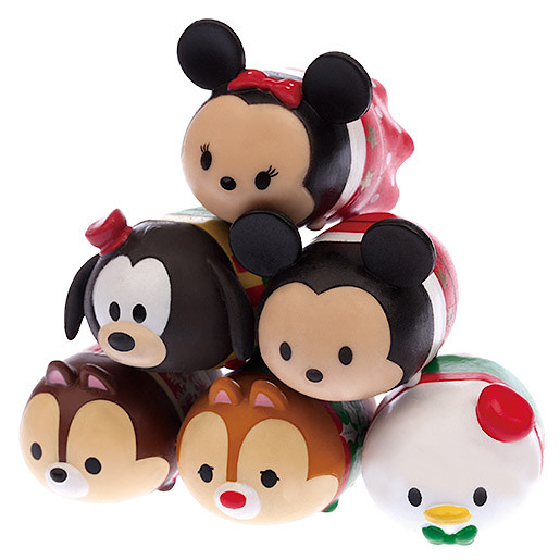 Disney Tsum Tsum Squishies Christmas Edition Tin