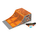 Hexbug Tony Hawk Circuit Boards - Quarterpipe Ramp with Skateboard