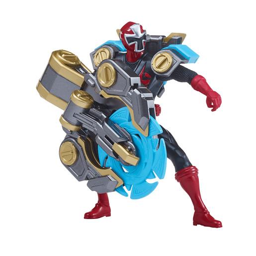 Power Ranger Super Ninja Steel Heavy Assault Rangers - Red Ranger