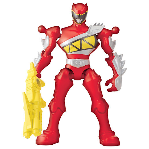 Power Rangers Mixx 'N' Morph Dino Charge Red Ranger and T-Rex Zord