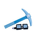 Tube Heroes Dan TDM Pick Axe and Goggles Role Play Set