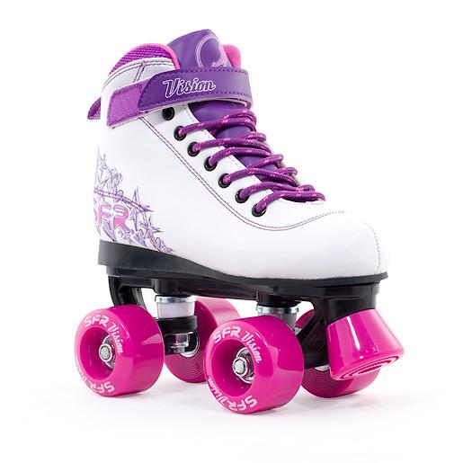 Vision II Purple Quad Skate - Size 3