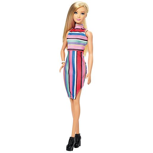 Barbie Fashionistas Stripy Dress from TheToyShop