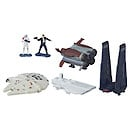 Star Wars Micro Machines Gold Series Episode VII Space Pursuit Set