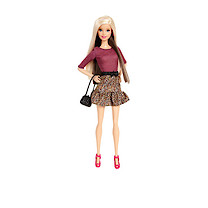Barbie Fashionistas Doll - Animal Print Dress