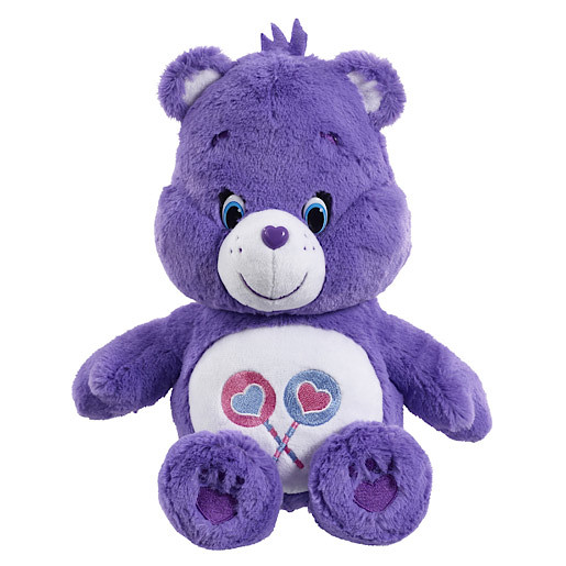 Care Bears Share Bear Soft Toy with DVD