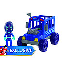 PJ Masks Villains Night Ninja Bus Vehicle with Ninja Figure