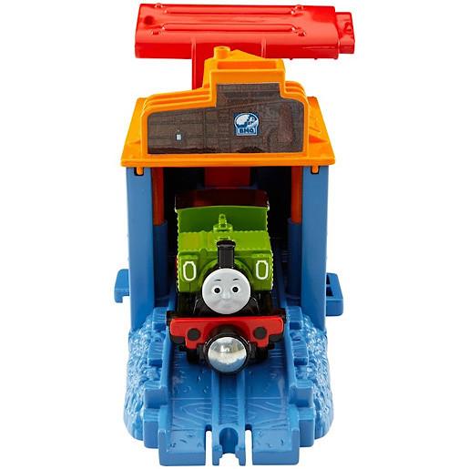 Thomas and Friends TakenPlay Portable Railway DieCast Speedy Launching Luke