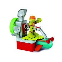 Teenage Mutant Ninja Turtles Half-Shell Heroes Vehicle and Figure - Sewer Cruiser with Mikey