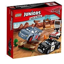 LEGO Juniors Disney Cars 3 Willy's Butte Speed Training 10742