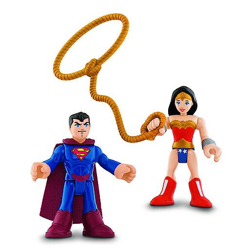 Image of Fisher-Price Imaginext DC Super Friends - Superman & Wonder Woman