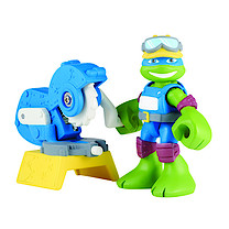 Turtles Half-Shell Heroes 2 Pack Figure - Construction Leo with Table Saw