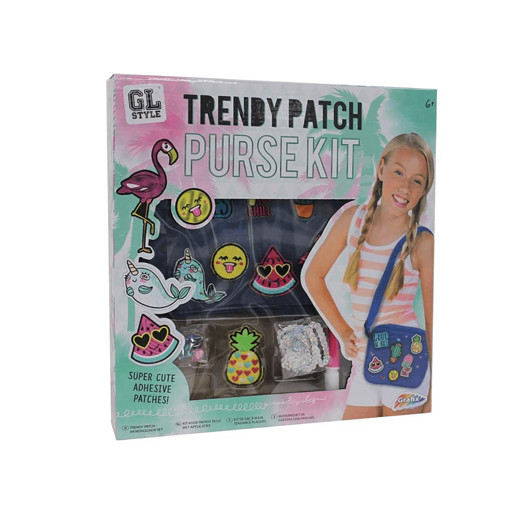 GL Style Trendy Patch Purse