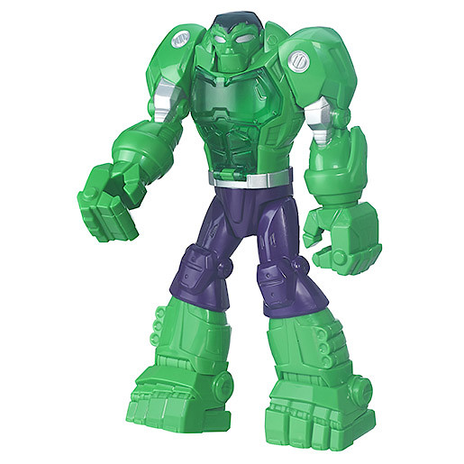 Playskool Heroes Marvel Super Hero Adventures Figure - MECH Armour Hulk