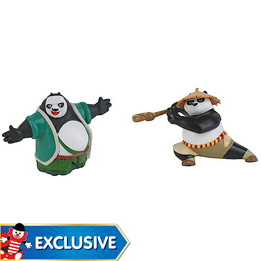 Kung Fu Panda 3 Action Figure Two Pack  Dragon Warrior Po & Li