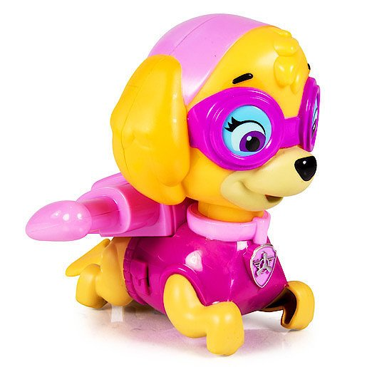 Paw Patrol Paddlin Pups Bath Toy - Skye