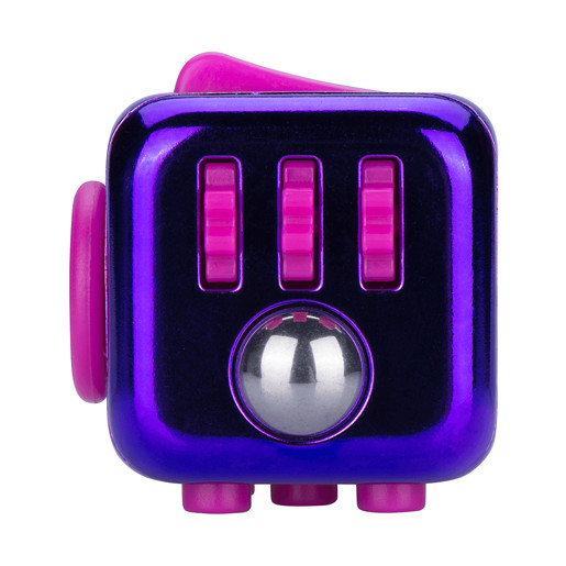 Fidget Cube Series 4 - Purple Chrome
