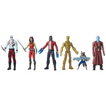 Marvel Guardians Of The Galaxy - Titan Hero Series 5 Figure Pack