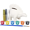 Jacks Paint Your Own Dino Money Box