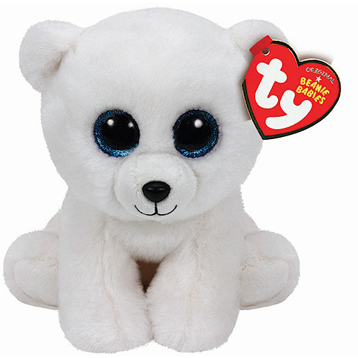 Image of Ty Beanie Babies 15cm Soft Toy - Arctic