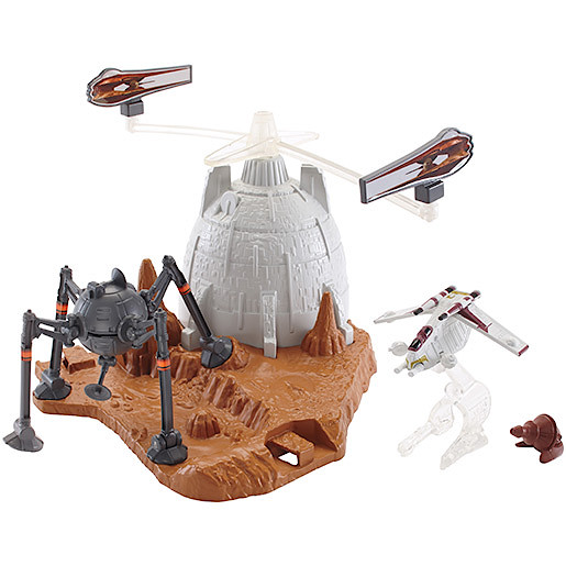 Hot Wheels Star Wars Battle of Geonosis Playset