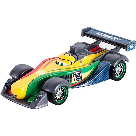Image of Disney Pixar Cars Carbon Fibre Diecast Vehicle Roman Pedalski