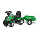 Falk Power Master Ride-on Tractor with Trailer