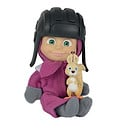 Masha and The Bear 12cm Doll with Squirrel Figure