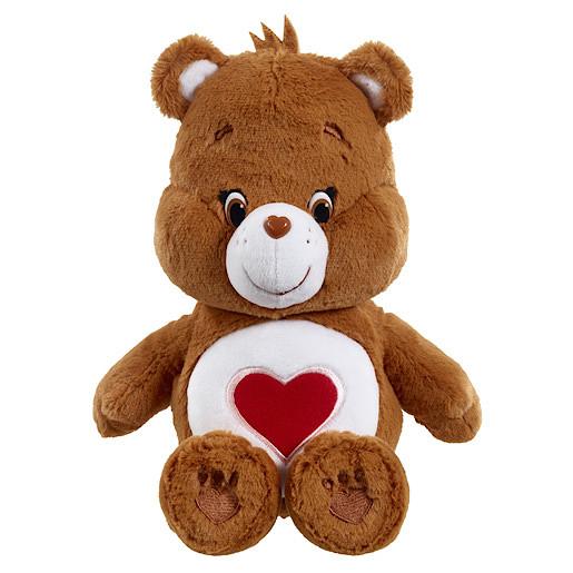Care Bears Tenderheart Bear Soft Toy with DVD