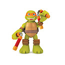 Teenage Mutant Ninja Turtles Half-Shell Heroes - Talking Turtle Mikey Figure