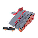 Tech Deck Ryan Sheckler Warehouse Plan B - Ramp, Quarter Pipe and Grind Wall Version 4