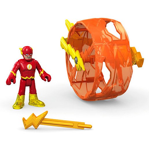 Image of Fisher-Price Imaginext DC Super Friends - Flash with Cycle