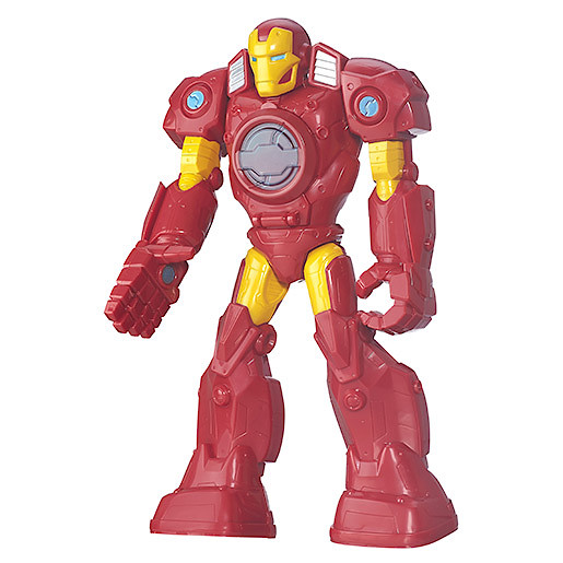 Playskool Heroes Marvel Super Hero Adventures Figure - MECH Armour Iron Man