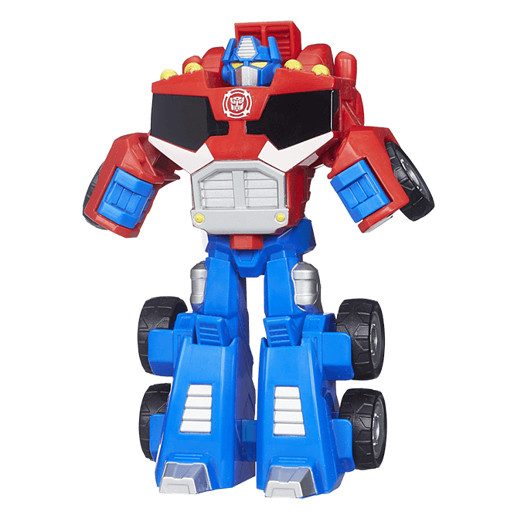 Playskool Transformers Rescue Bots 13cm Figure - Red Optimus Prime