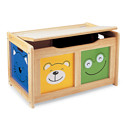 Four Friends Wooden Toy Chest