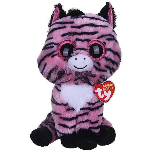 Image of Ty Beanie Boos - Zoey the Zebra Soft Toy