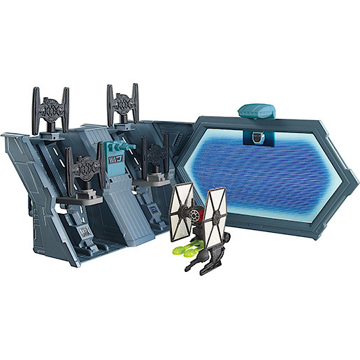 Hot Wheels Star Wars TIE Fighter Blast-Out Battle Playset