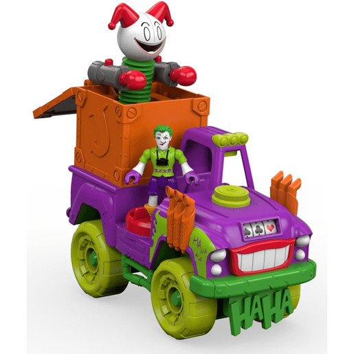 Imaginext Dc Super Friends The Joker Surprise