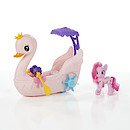 My Little Pony Pinkie Pie Row & Ride Swan Boat Set