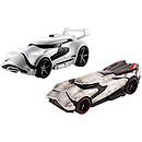 Hot Wheels Star Wars Cars - First Order Stormtrooper & Captain Phasma