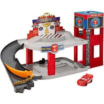Disney Pixar Cars 3 Piston Cup Racing Garage Playset