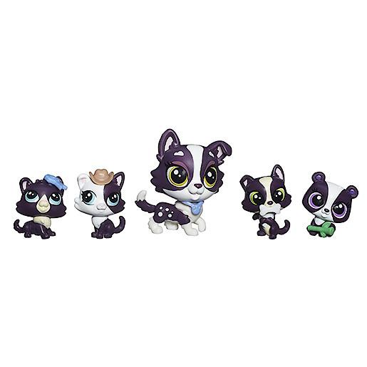 Littlest Pet Shop Mini Pet Pack  Robertson Family