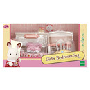 Sylvanian Families Girl's Bedroom Set